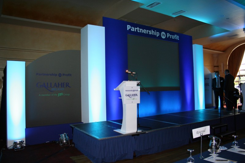 Exhibition Displays : Backdrop design manufacturing conference backdrops
